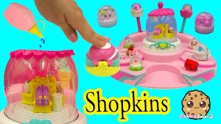 Shopkins Glitzi Globes Pretty Fashion Parade Water Play Snow Dome Maker Playset - Cookieswirlc