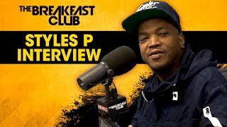 The Breakfast Club - Styles P On The Need For Competition In Hip-Hop, His New Album, Life Balances + More