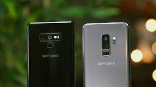 Samsung Galaxy Note9 vs Samsung Galaxy S9+ Should You Buy One?