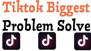 Gambar cover How To Fix Tiktok App Error keeps crashing, lagging or freezing Problem Solve