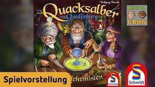 Die Quacksalber von Quedlinburg - Die Alchemisten - Schmidt Spiele - Brettspiel - Spielvorstellung