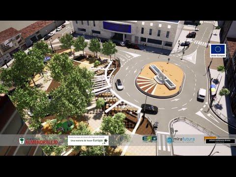 Proyecto Plaza de Extremadura, EDUSI, Fondos FEDER