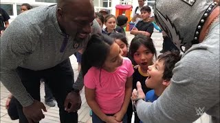 Superstars leave a youngster speechless in Santiago, Chile