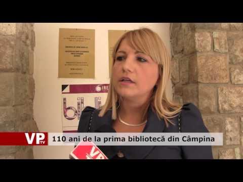 110 ani de la prima bibliotecă din Câmpina