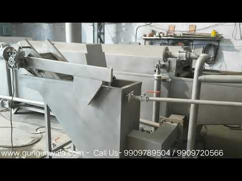 Chips Frying Line with Wooden Heat Exchanger