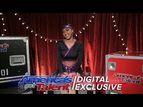 Shemika Charles Gives Us The Lowdown On Her AGT Performance - America's Got Talent 2017