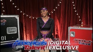 Shemika Charles Gives Us The Lowdown On Her AGT Performance - America