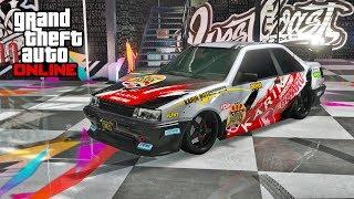 GTA 5 ONLINE AFTER HOURS DLC - KARIN FUTO HIDDEN UNRELEASED CAR CUSTOMIZATION & TEST