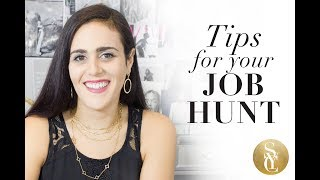 How To Find A Job & Tips For Job Hunting | Fashion Careers