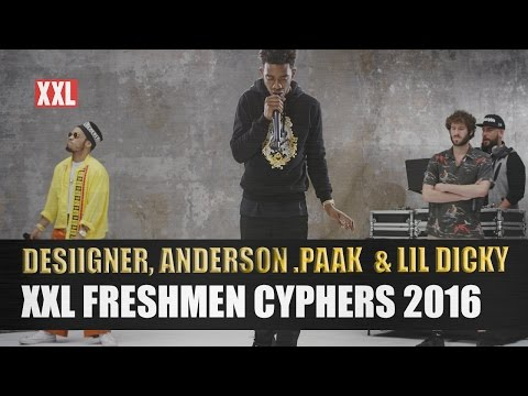 Desiigner, Lil Dicky & Anderson .Paak's 2016 XXL Freshmen Cypher