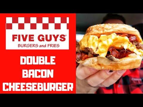 DER BESTE FAST FOOD BURGER!🥓🍔 - Double Bacon Cheeseburger - Frankfurt 2018
