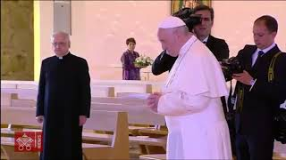 Papstbesuch in Loppiano