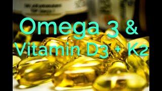 OMEGA 3 Fettsäuren + Vitamin D3 & K2 -So wichtig sind Omega Fettsäuren und Vitamine!