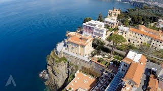 preview picture of video 'Hotel Corallo from the air, Sorrento Italy'