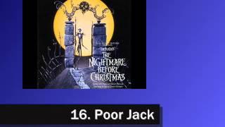 Nightmare Before Christmas Soundtrack - 16. Poor Jack
