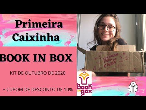 BOOK IN BOX - Primeiro Kit + Cupom de Desconto