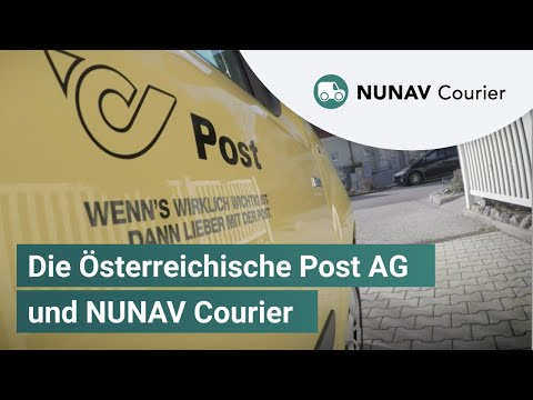 NUNAV Courier im Einsatz bei der Österreichischen Post