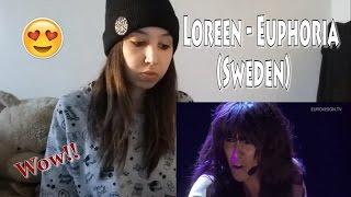 Loreen - Euphoria (Sweden) - Eurovision 2012  _ REACTION