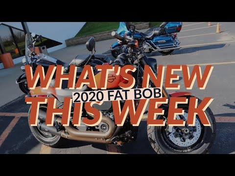 2020 FXFBS SOFTAIL FAT-BOB S 114