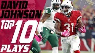 David Johnsons Top 10 Plays Of The <b>2016 </b>Season  NFL Highlights