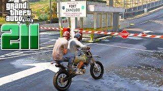 អស្ចារ្យណាស់ចូលបន្ទាយសម្លាប់មេទាហាន - Extradition Mission - GTA 5 Redux Real Life Ep211|VPROGAME
