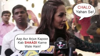Malaika Arora IGNORES Media Question About Her MARRIAGE With Boyfriend Arjun Kapoor