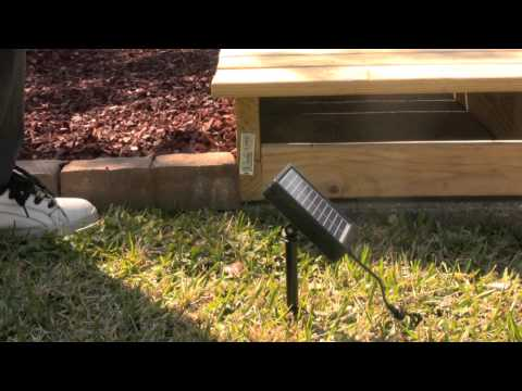 Kenroy Home Solar LED Deck And Pathway Light String Kit