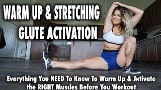 Warmup, Stretching & Glute Activation