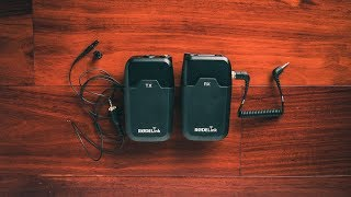 RodeLink FM Wireless Filmmaker System Review