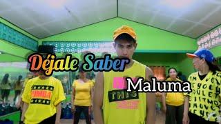 Maluma   Déjale Saber | ZUMBA | FITNESS | At RAD STUDIO PENAJAM