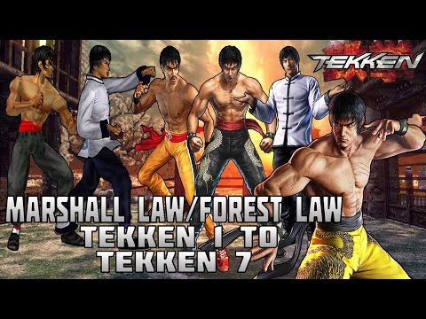 Tekken - Marshall Law/Forest Law Evolution (1994-2016)