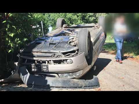 Wideo: Audi dachowało w Raszówce