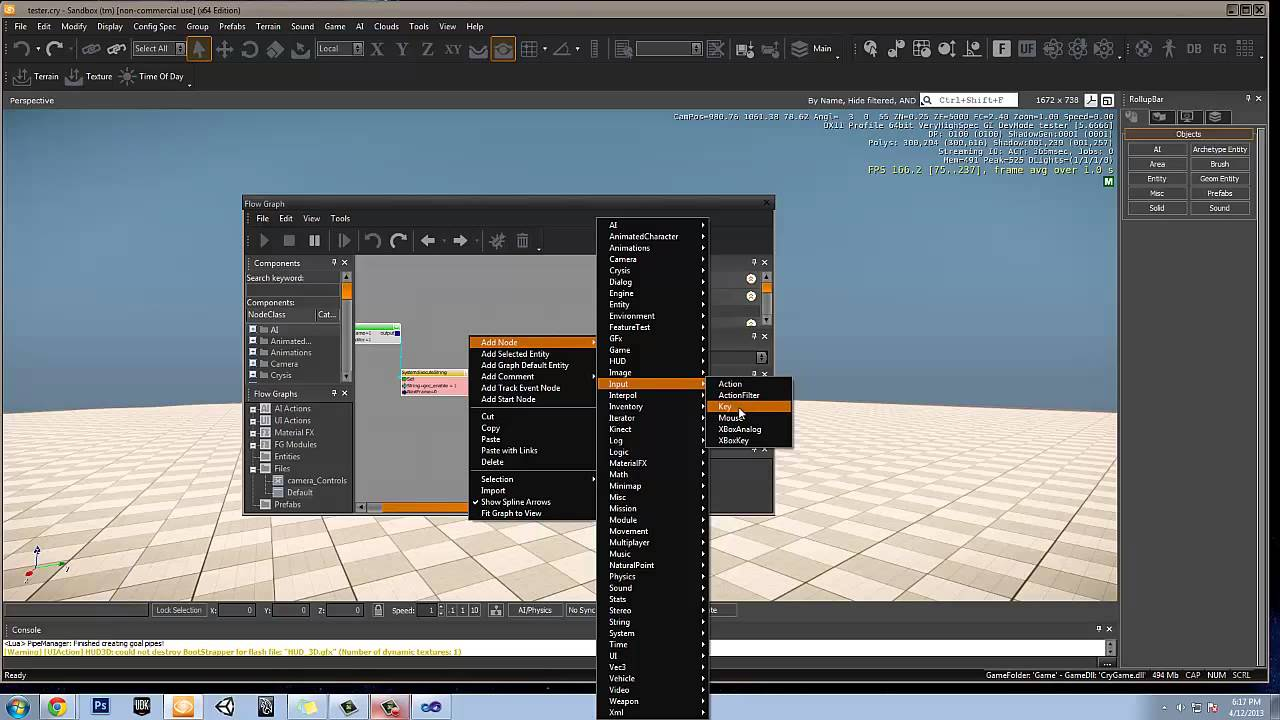 CryEngine 3 toggleable cameras tutorial