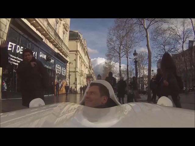 """"""" L'effet Fitcar"""" sur les Champs Elysées !"""