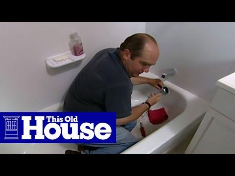 Fix A Clogged Bathtub Drain Mrbathroomplumber