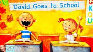 📚 Kids Book Read Aloud: DAVID GOES TO SCHOOL By David Shannon
