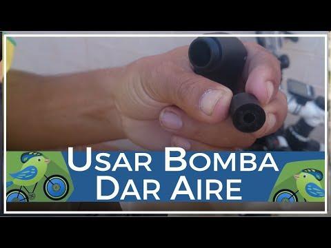 Cómo utilizar una bomba para dar aire a rueda de bicicleta de válvula fina y gruesa