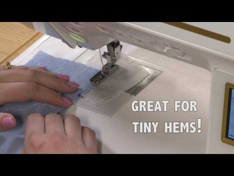 How To Use A Rolled Hem Foot