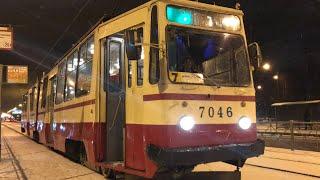 """""""Седьмой во всём!""""Трамвай ЛВС-86К"""