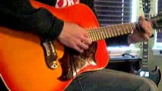"""Echo & the Bunnymen: """"Seven Seas"""" 1969 Framus 12 String """"Texan"""" guitar"""