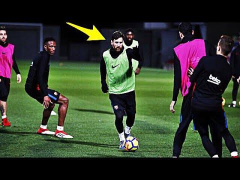 Lionel Messi Crazy Training Skills Show 2018 - Part 2 | MUST WATCH