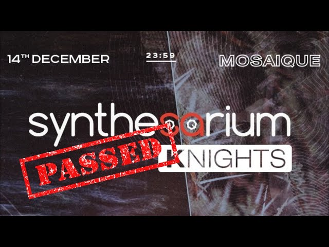 SYNTHESARIUM KNIGHTS. MOSAIQUE - Видео отчет и интервью