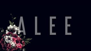 Alee Dont Make Me Miss You Official Lyric Video