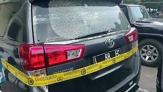 Mobil Pejabat Pemkot Surabaya Diberondong Tembakan oleh Orang tak Dikenal