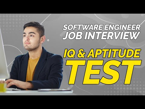 How to Pass Software Engineer Job IQ & Aptitude Test