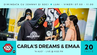 Carla's Dreams & EMAA - N-aud (Live @ Kiss FM)