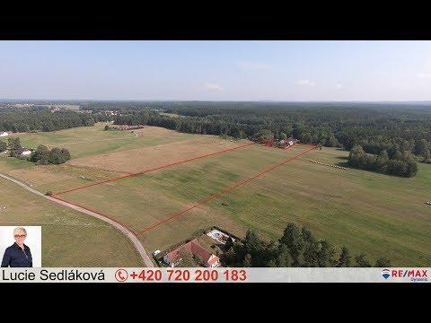 Video Prodej pozemku 29096 m², Rapšach