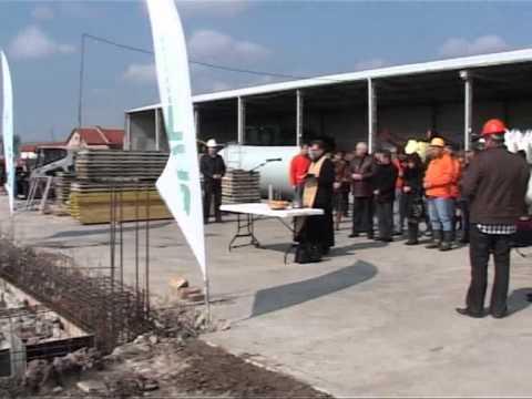 Първа копка на завода за заготовка на семена в село Яздач