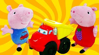 New Peppa Pig episodes in English - Peppa and George find a toy