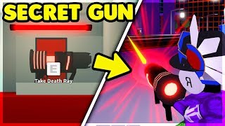 *NEW* SECRET DEATH RAY IN MAD CITY IS OVERPOWERED (HOW TO GET IT) Roblox: Mad City Update